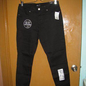 Black Slim Fit Skinny Jean by Royalty - Size 12